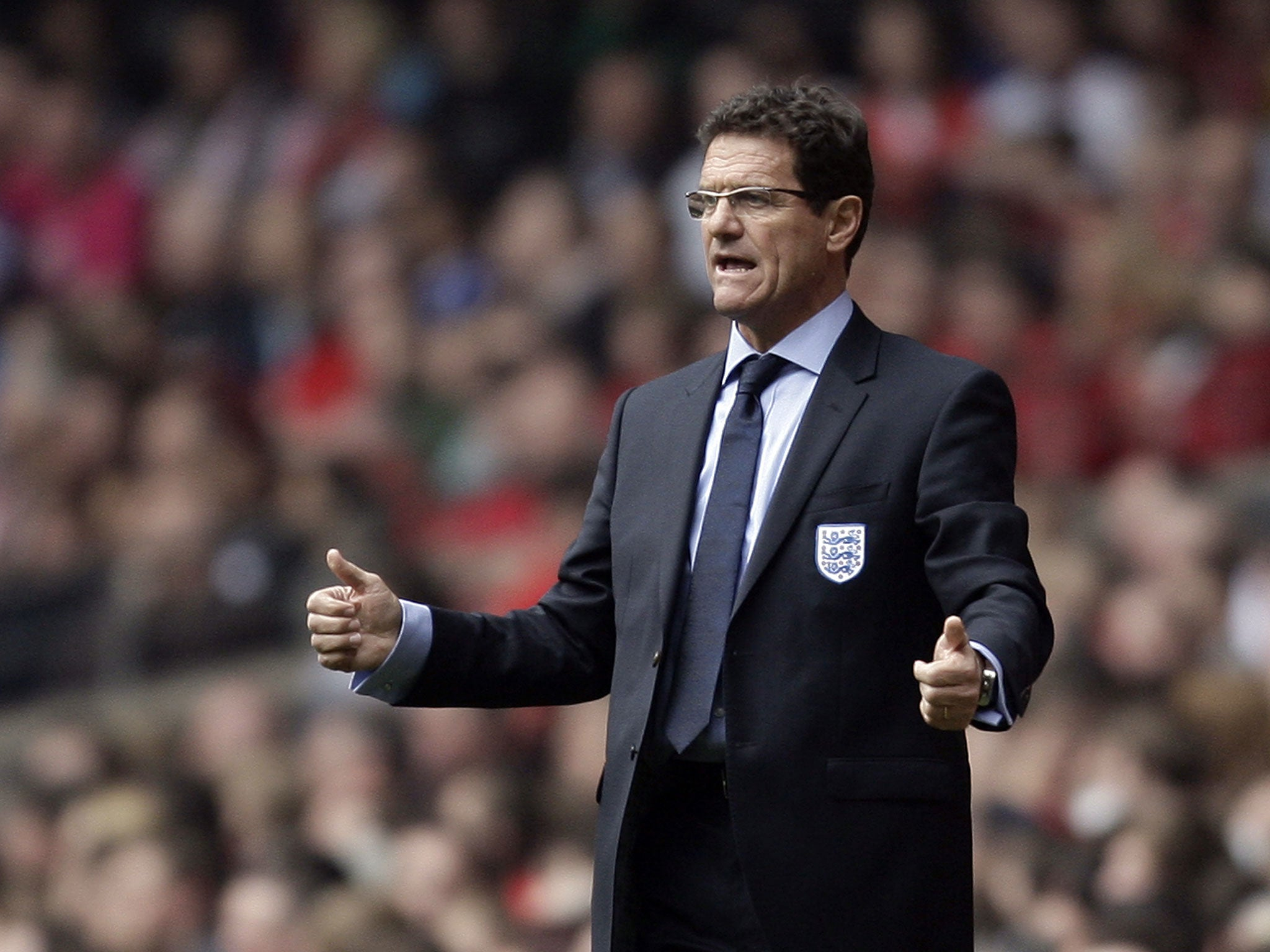 Fabio Capello admitted mistakes at the World Cup, but did not take the blame for the failure 48