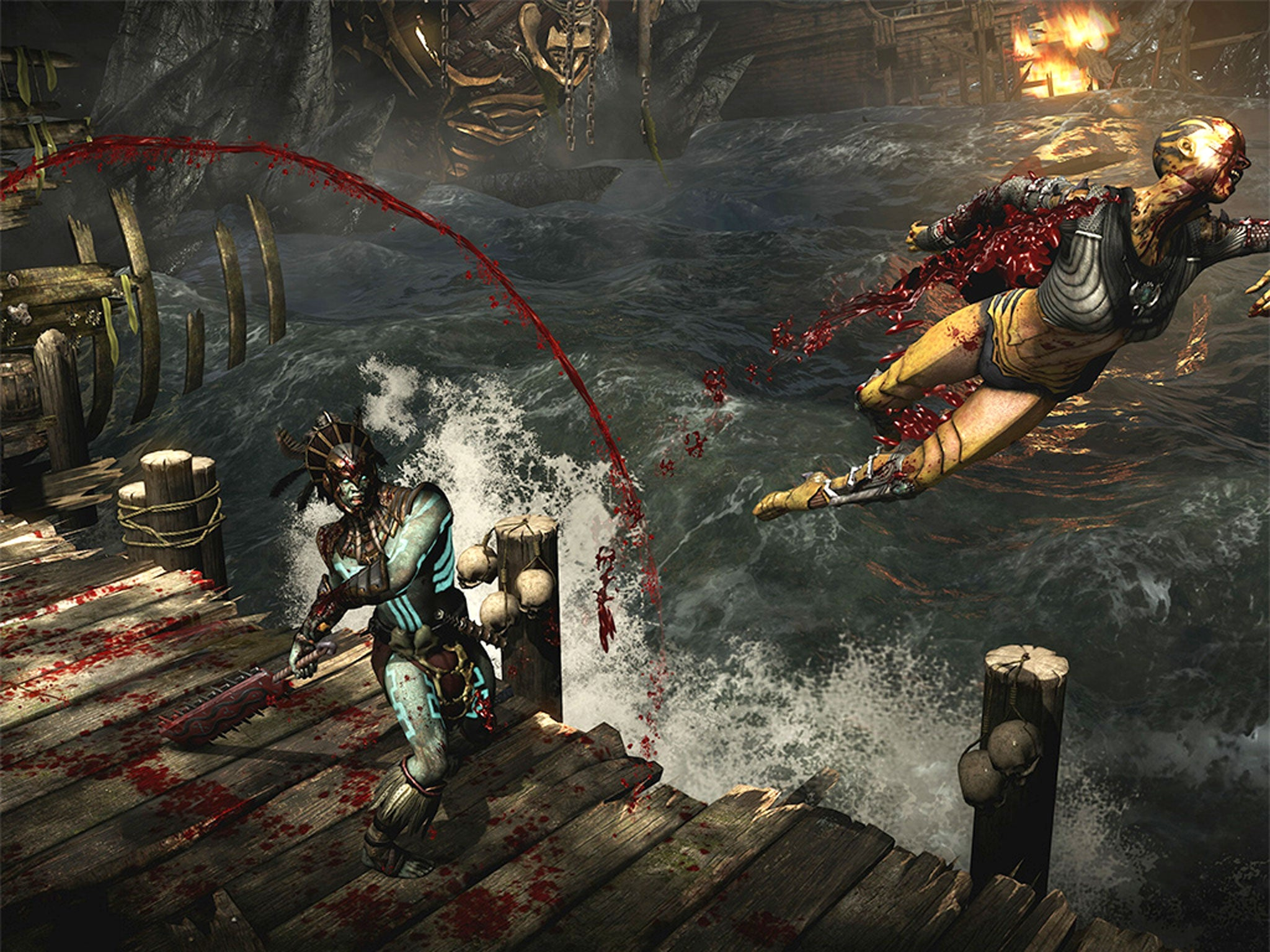 Mortal Kombat X; Titan Souls; The Trace: Murder Mystery Game, gaming reviews   The Independentindependent_brand_ident_LOGOUntitled
