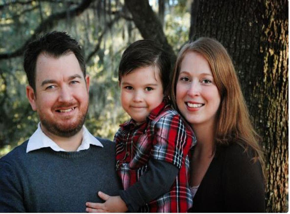 The image of the family from the crowd funding page
