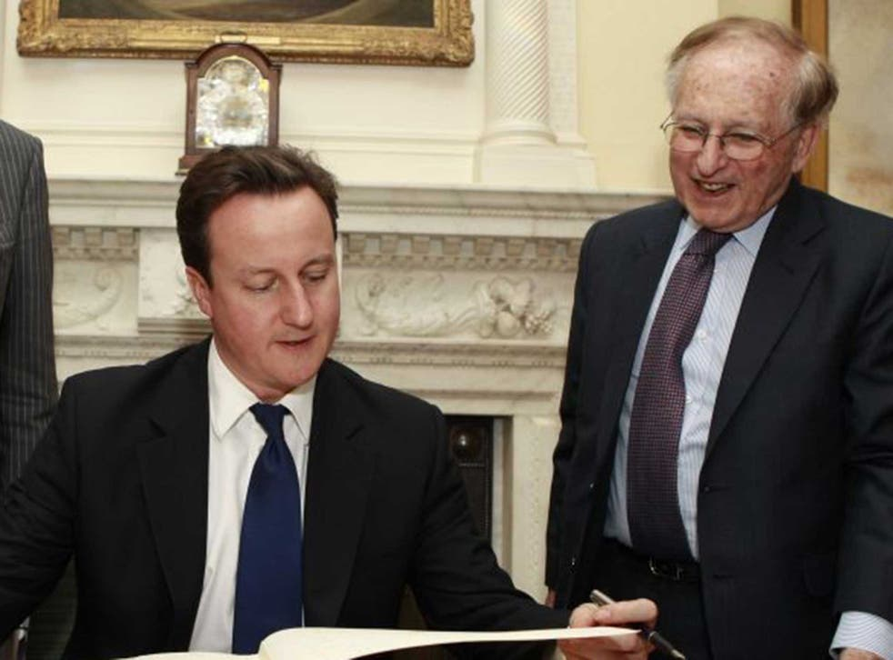 Lord Janner was chairman of the Holocaust Educational Trust and campaigned for justice for the victims of Nazism