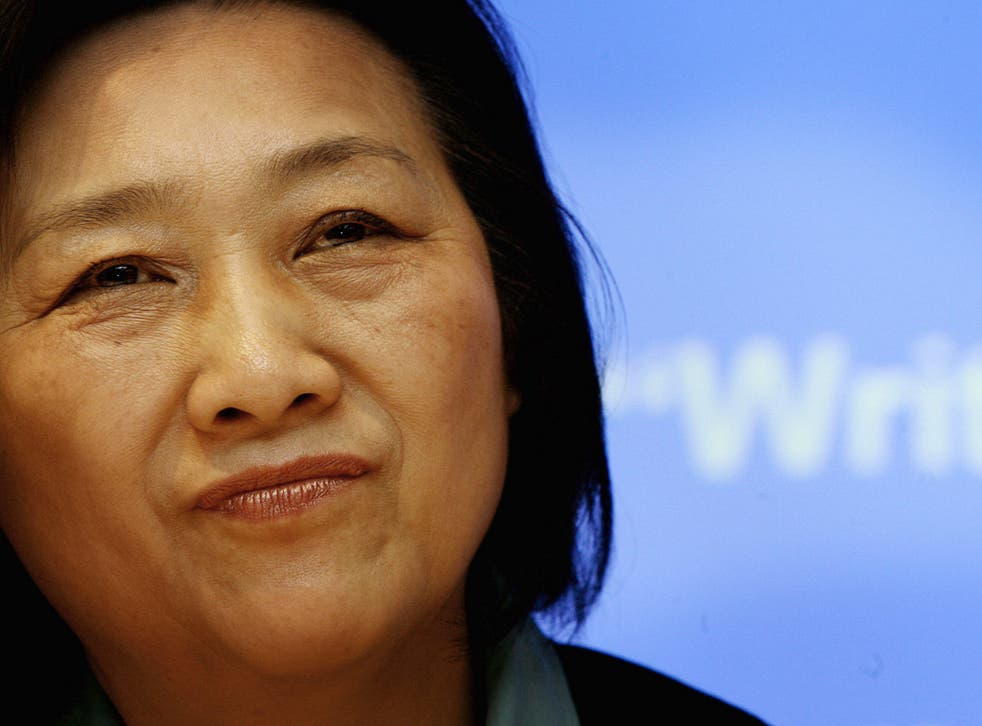 Gao Yu, who has been imprisoned for leaking Chinese state secrets, pictured here in 2007