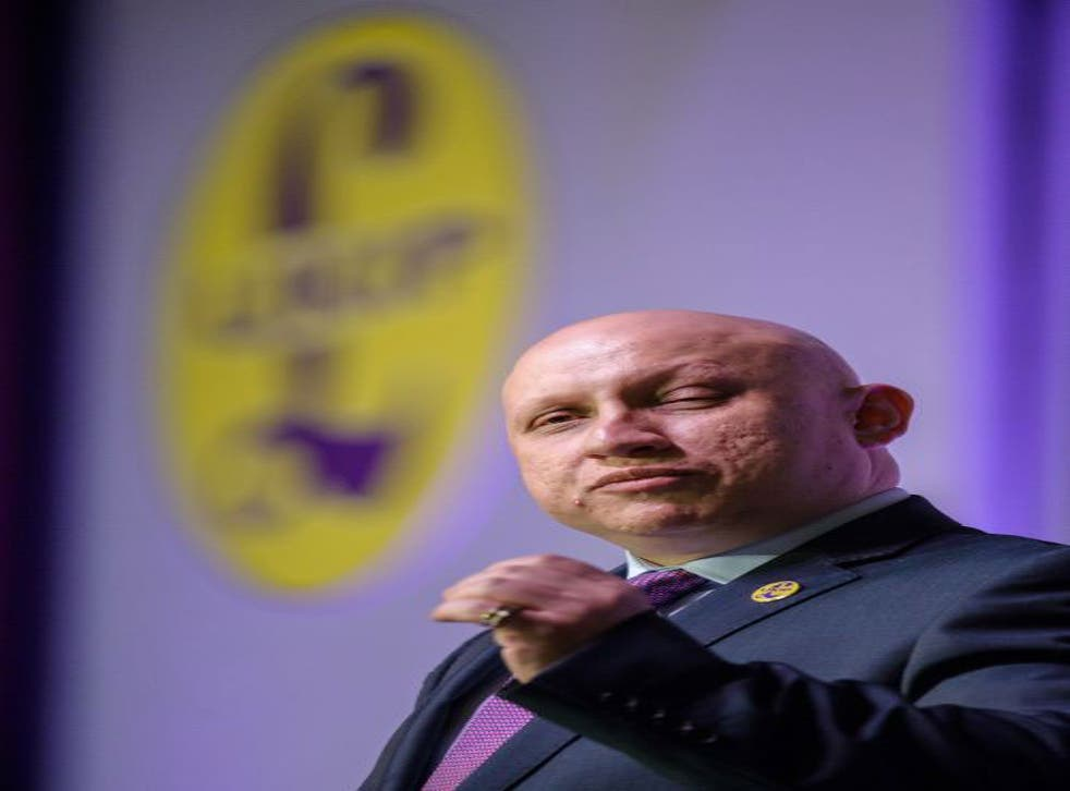 Mr Charalambous is national housing and environment spokesman for UKIP