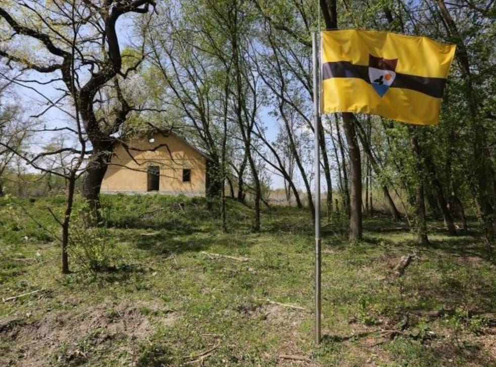 Liberopolis, the capital of Liberland. Photo by Marko Mrkonjic