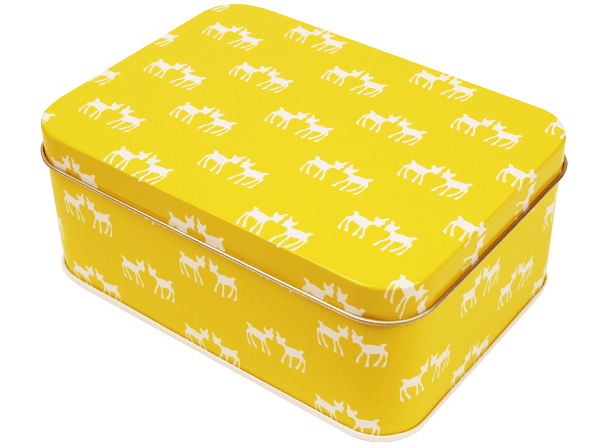 Bring a bit of Scandi style to your lunch box with a food-safe coated metal  box from Norwegian design company Blafre. We love this yellow deer pattern,  ... 8bfe3b5e2e