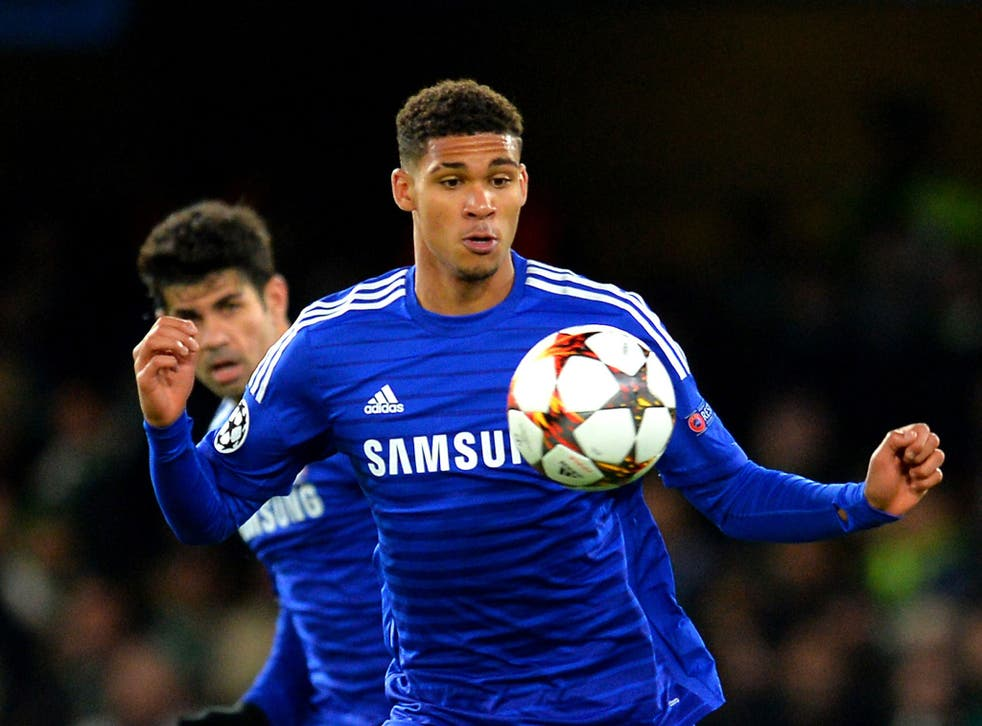 Chelsea midfielder Ruben Loftus-Cheek