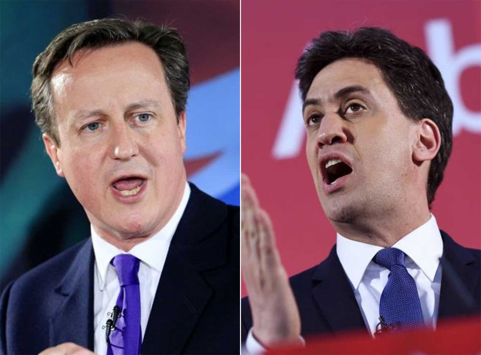 Ed Miliband said David Cameron was partly to blame for migrant crisis