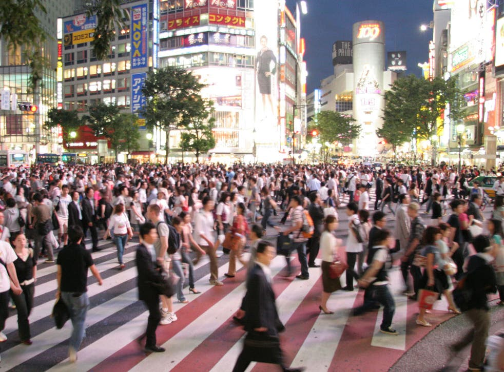 Japan's population is projected to fall dramatically in the next 50 years (Wikimedia)