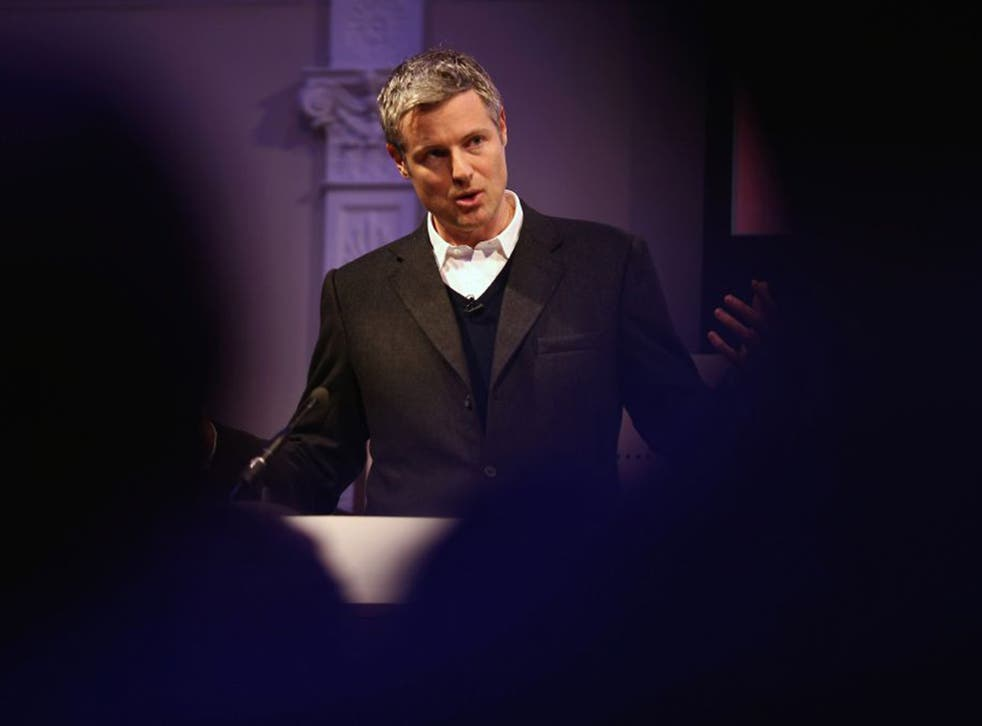 Zac Goldsmith has taken umbrage with some of the things in the new Conservative manifesto – including a refusal to rule out building a third runway at Heathrow