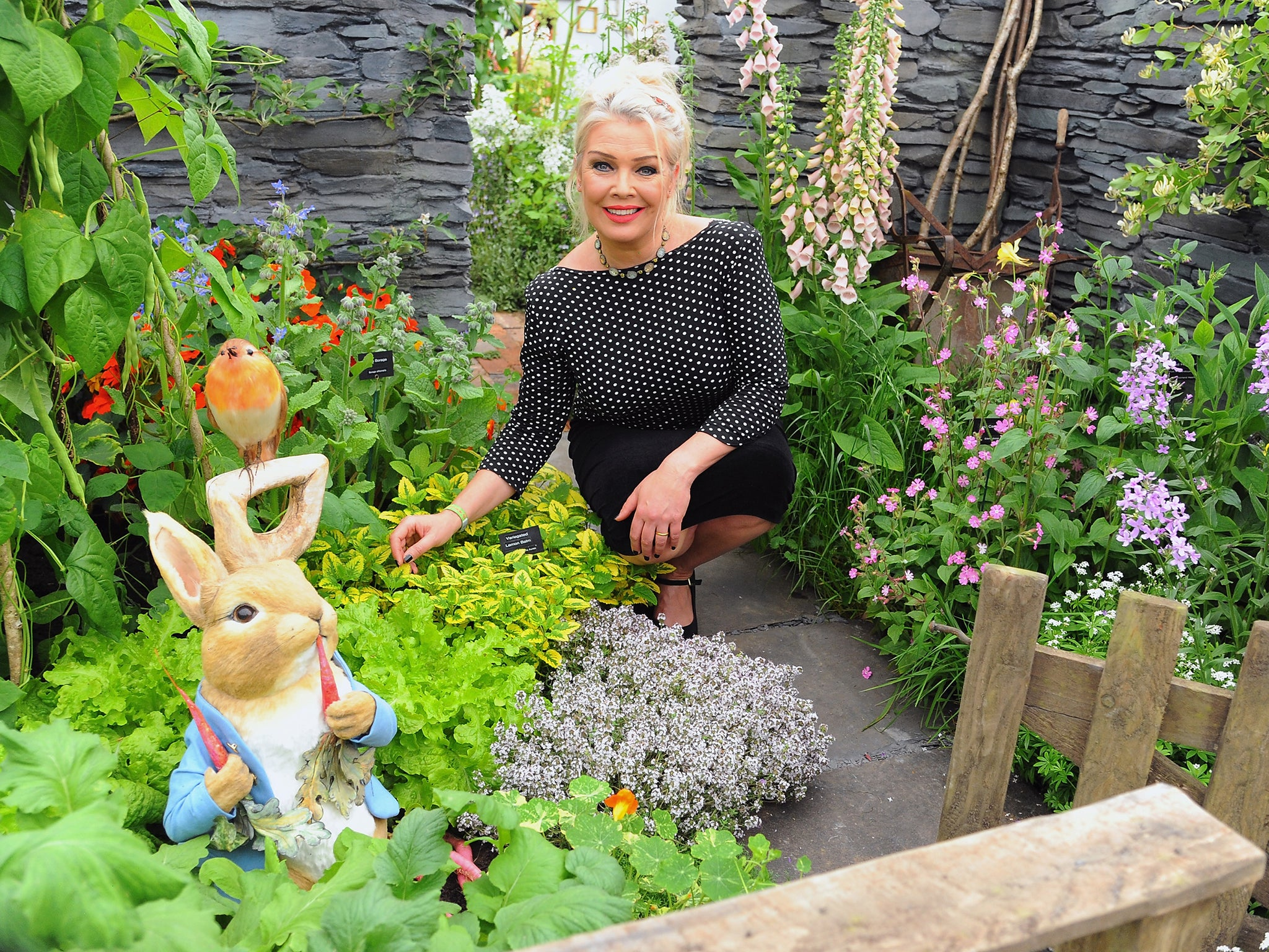 Kim Wilde 39 Horticulture Gave Me Back My Life Gardens Are Always The First Place I Go To