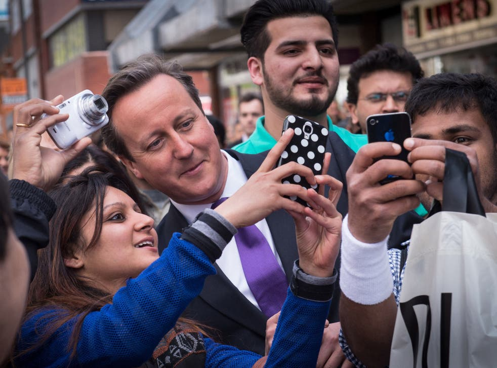 The Prime Minister hopes that meeting voters face to face will boost his poll ratings