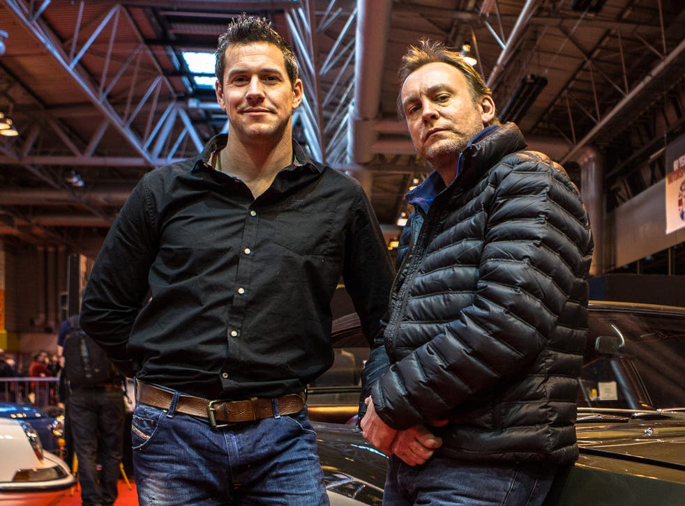 Ant Anstead and Phil Glenister, the presenters of 'For the Love of Cars'