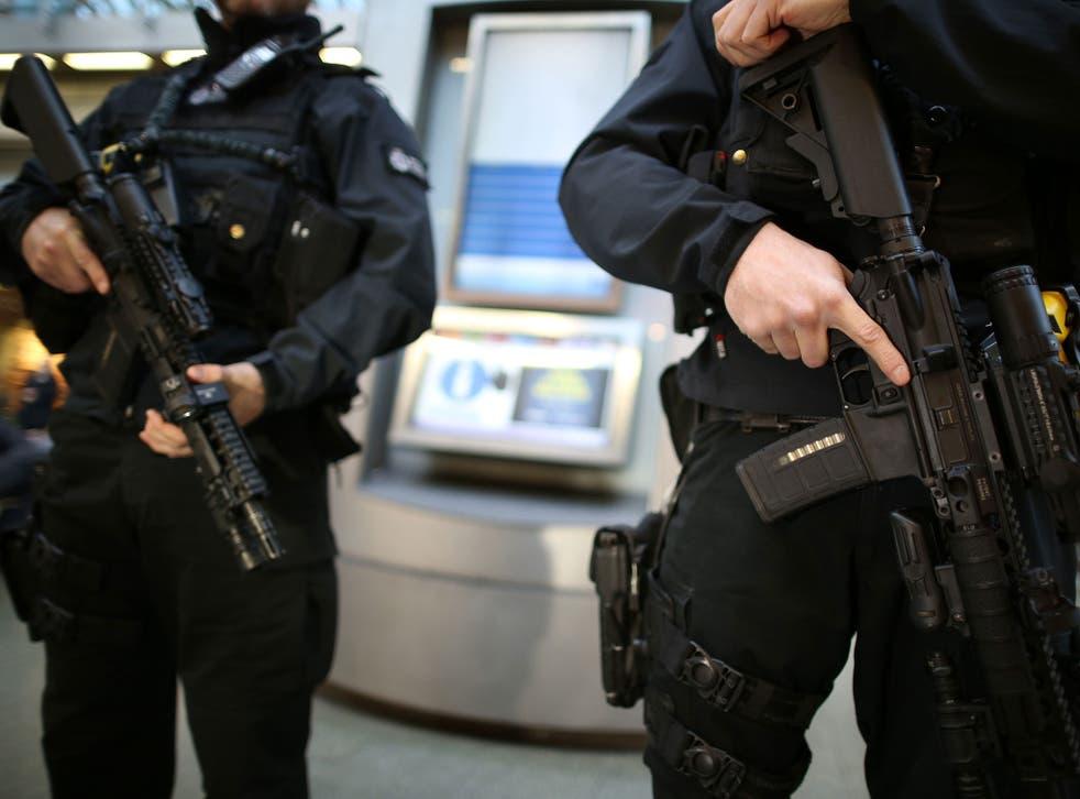 <p>Counter-terrorism arrests reduced during the national coronavirus lockdown</p>