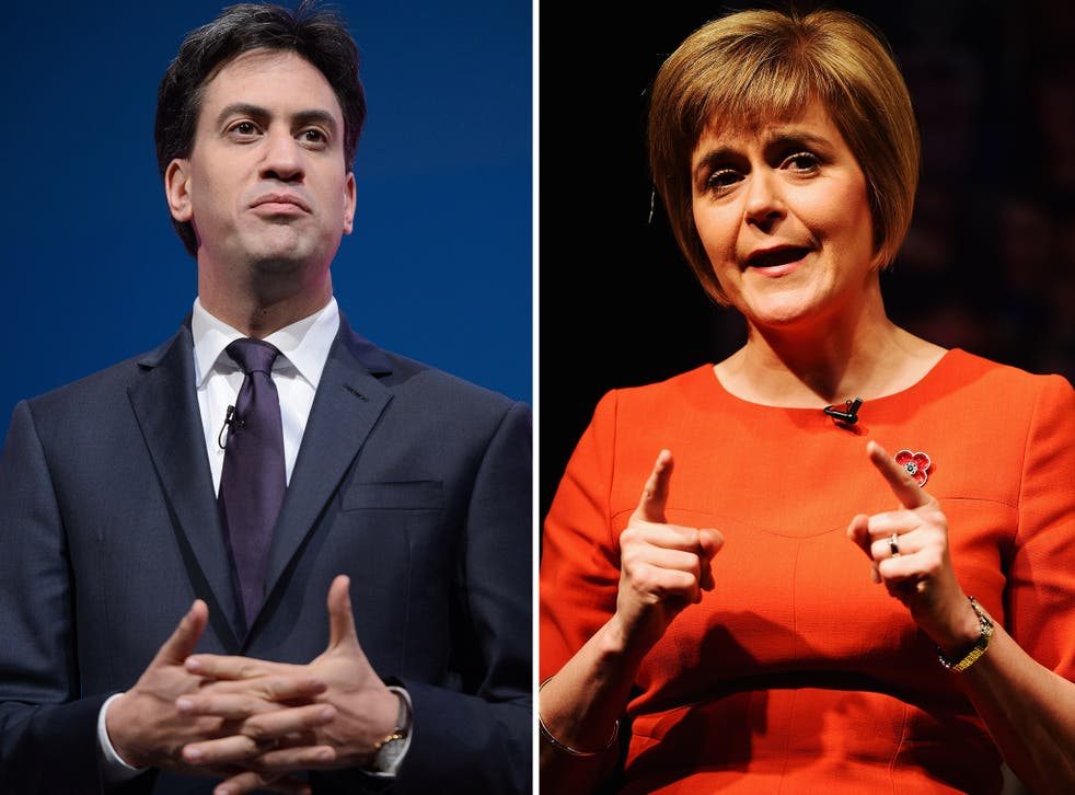 """""""Nicola Sturgeon's interests are not the interests of the UK, nor the interests of my country. If Ed Miliband aspires to be a statesman he should realise that a government formed with such a partner is a poisoned chalice."""""""