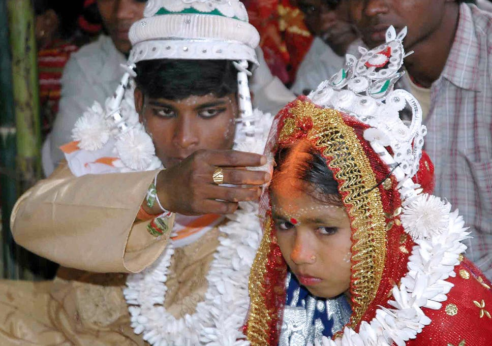 child marriage is still widespread in india despite laws raising the minimum age to 18 for