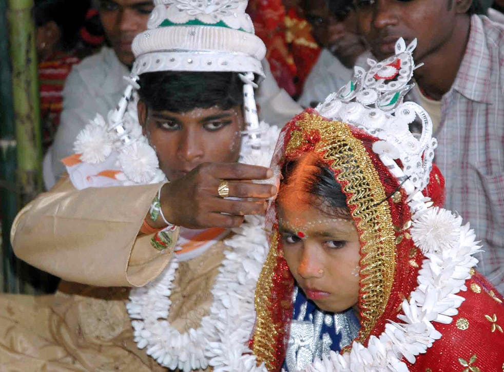 Child marriage is still widespread in India despite laws raising the minimum age to 18 for women and 21 for men