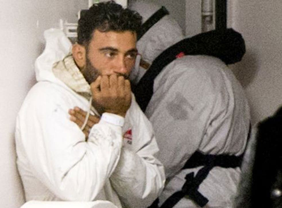 Mohammed Ali Malek has been charged with causing the deaths of hundreds of migrants who drowned after he steered the ship he was captaining into another vessel