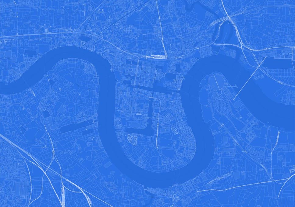 Blueprint map can you guess the name of the city from its outline a blueprint map of london malvernweather Images
