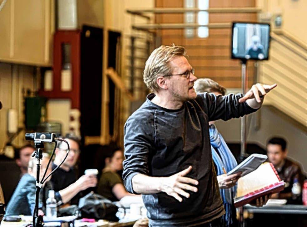 Royal approval: Kasper Holten in rehearsals
