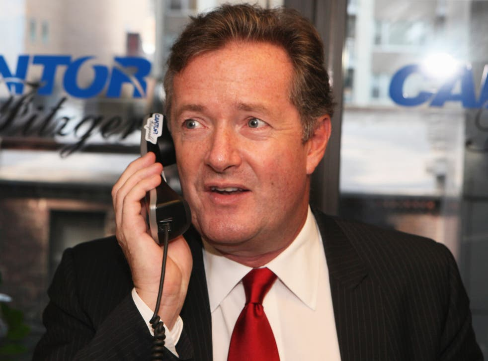 Piers Morgan was editor at the Daily Mirror for nine years