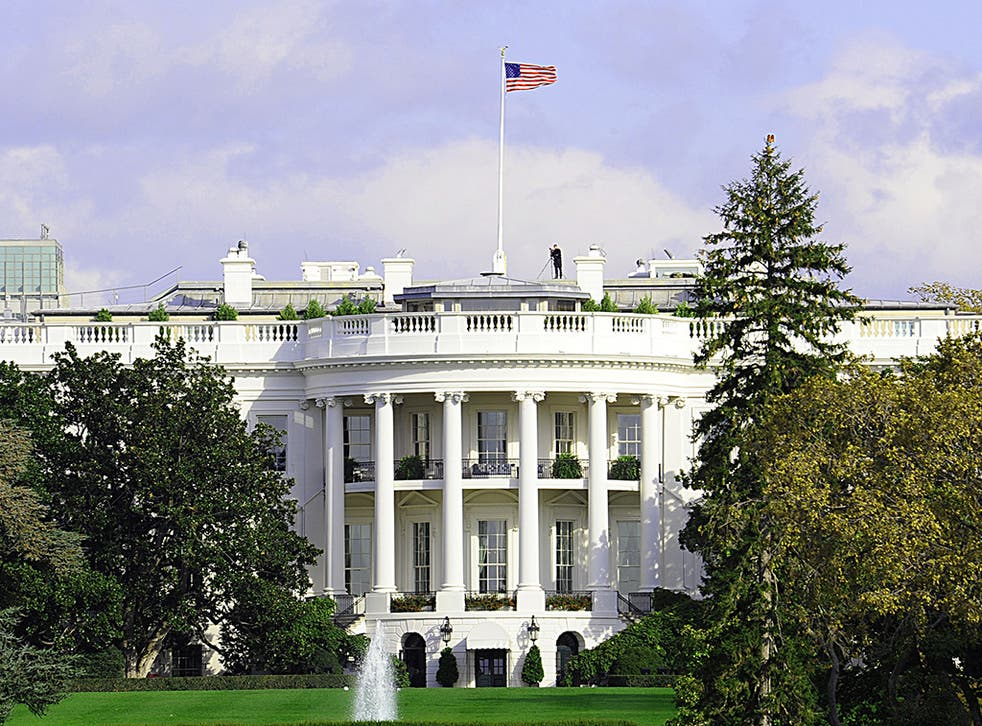 The White House is seen on October 29, 2008 in Washington