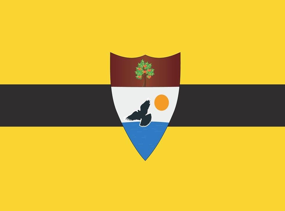 The Liberland national flag
