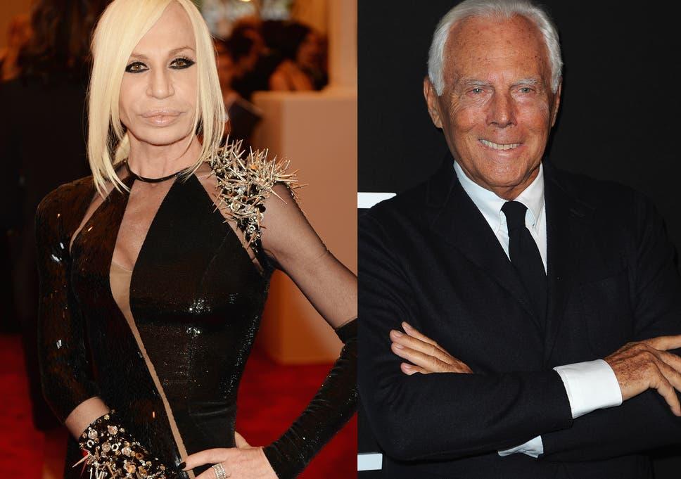 cbd0d1045a08 Donatella Versace hits out at  rude and tasteless  Giorgio Armani ...