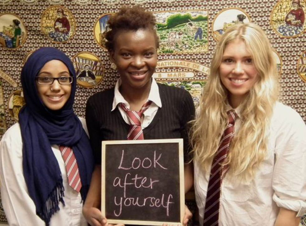 Pupils show that FGM should not be a taboo subject