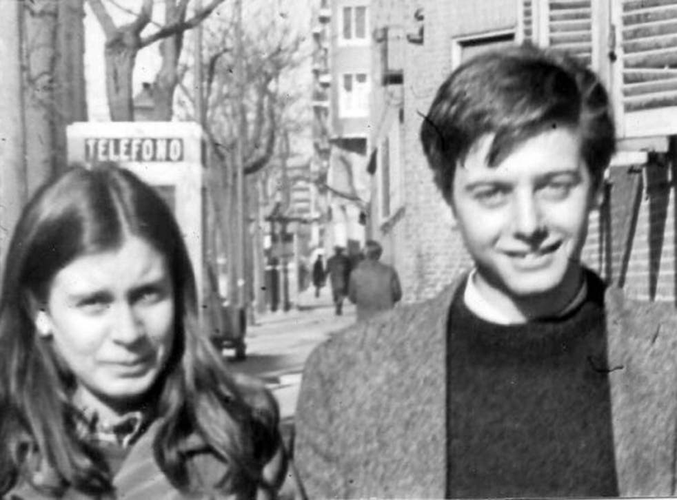 Gonzalez Ruiz and her then fiancé Enrique Ruano; he was murdered by Franco's security forces