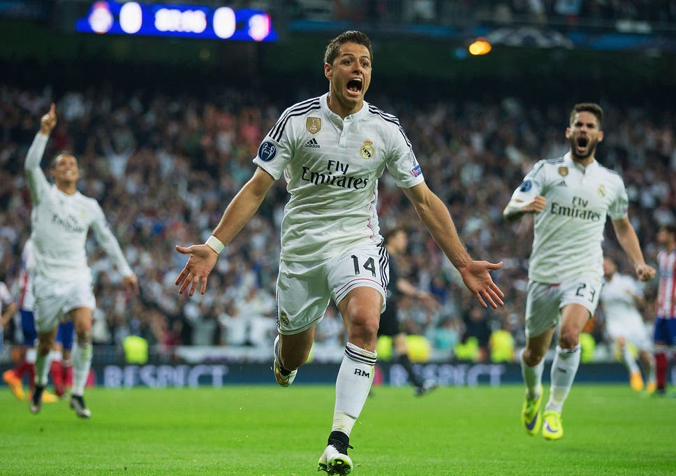 detailing 32c9d 1e2c6 Real Madrid vs Atletico Madrid match report: Chicharito ...