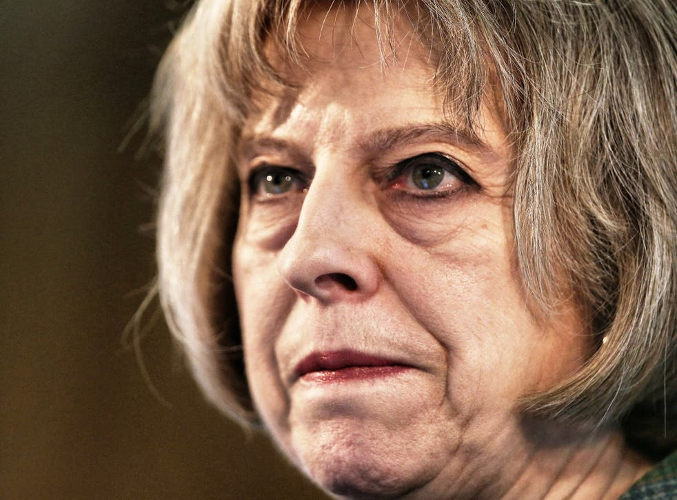 Undermined: Theresa May has pledged to implement a 'deport first, appeal later' regime