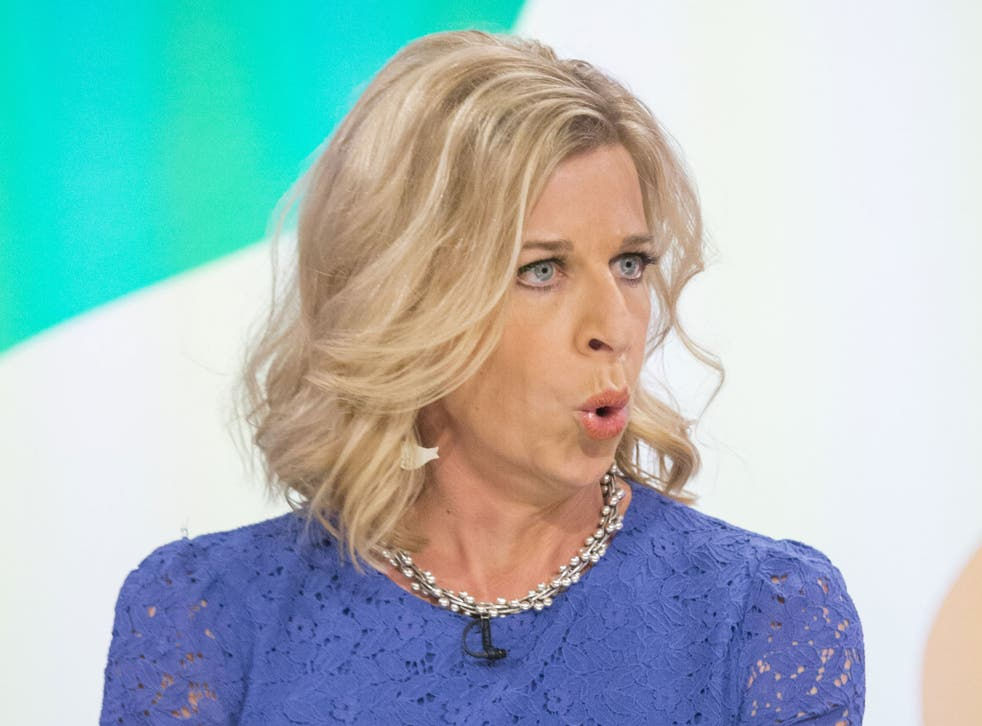 Creating controversy: Swivel-eyed über-troll Katie Hopkins