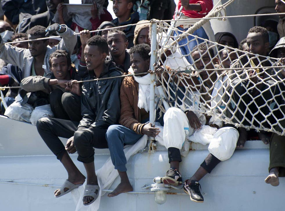 Crews of commercial ships have picked up thousands of migrants dumped at sea