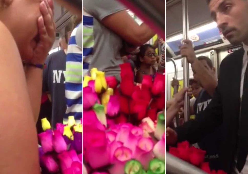 90cb99f544de5 Video: Mystery man reduces flower seller to tears after buying her ...