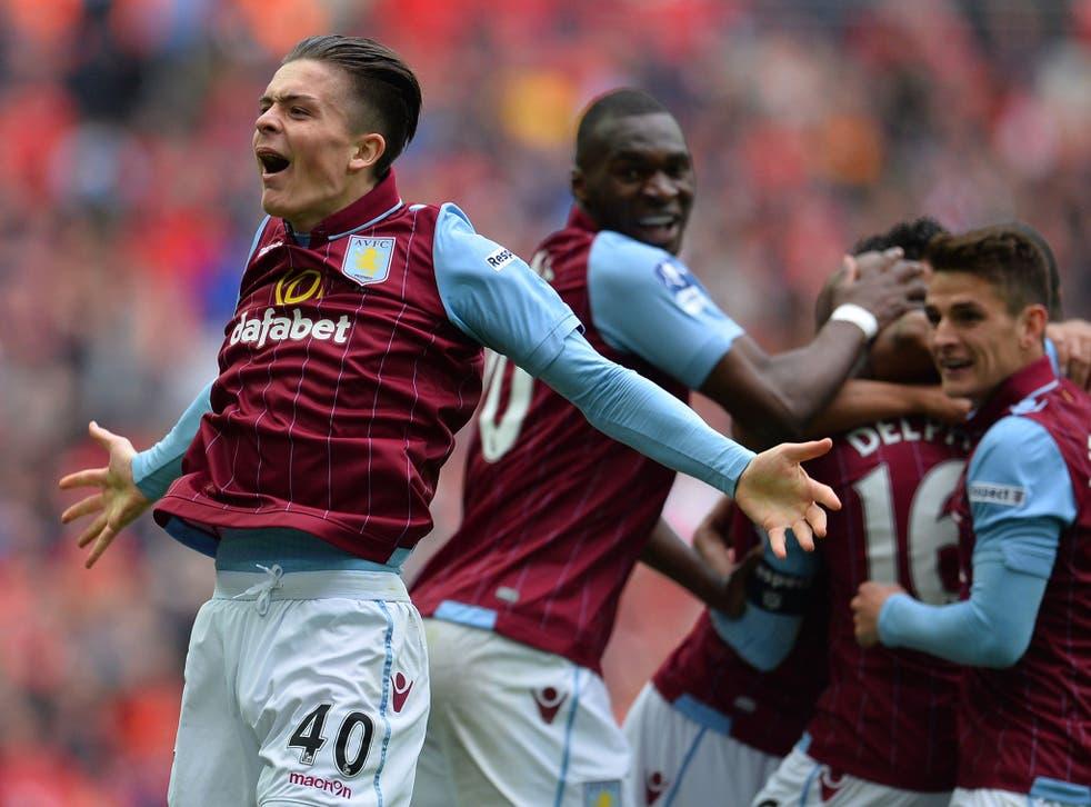 Aston Villa midfielder Jack Grealish