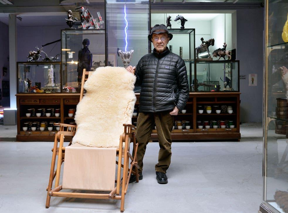 A chair to remember: Sarkis in his Paris studio Patrick Gaillardin