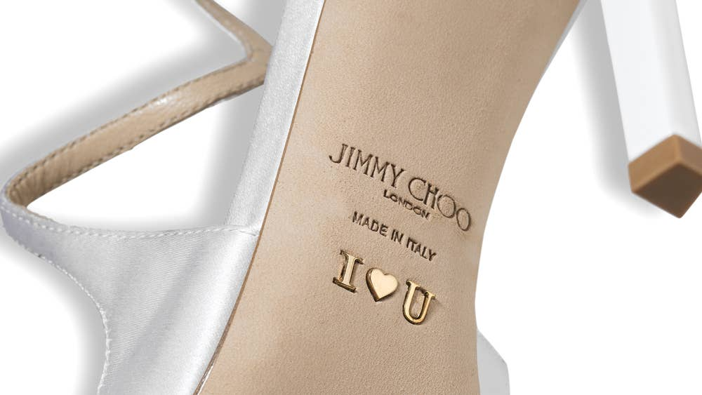 550981c480a2 Calling all brides  Jimmy Choo launches bespoke bridal shoe ...