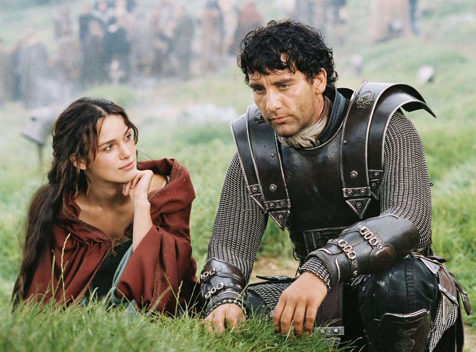 Legendary charm: Clive Owen and Keira Knightley in 2004's 'King Arthur'