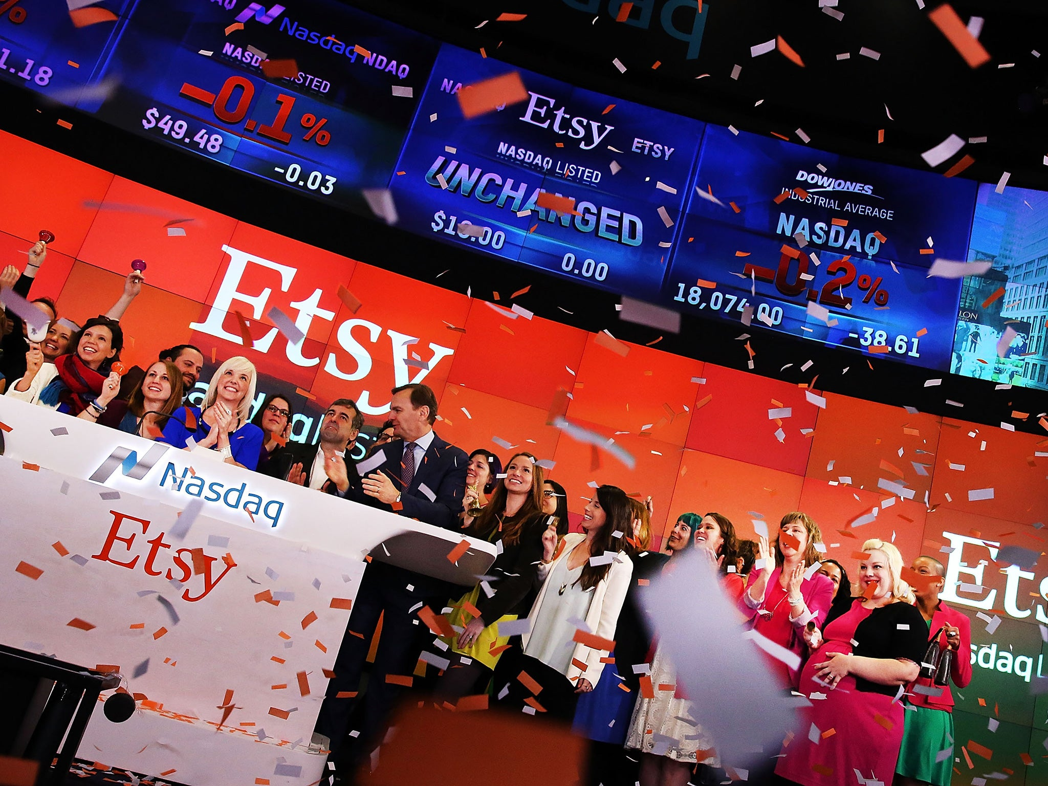 How Etsy became a crafty little earner: The online market has been floated for £1.2bn, but can