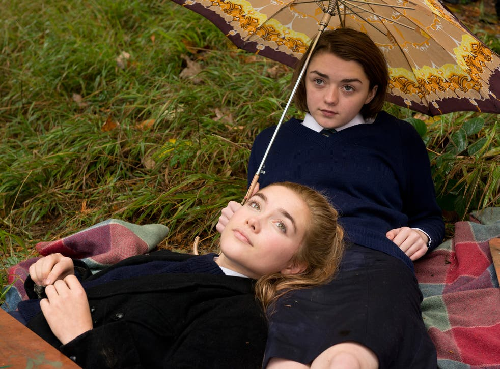 Girls on the verge of a nervous breakdown: Florence Pugh and Maisie Williams star in 'The Falling'
