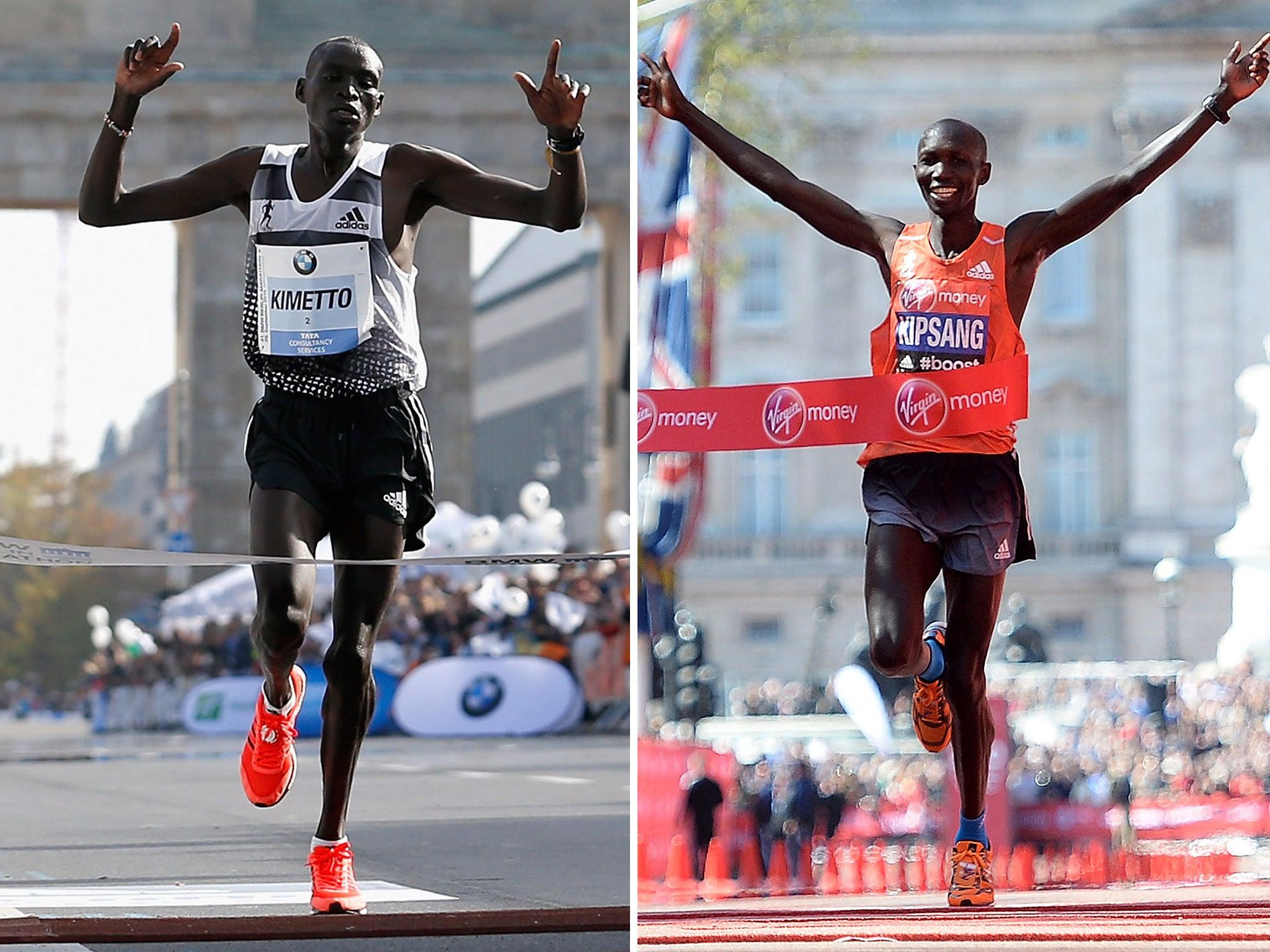 London Marathon 2015 Kenya S Brothers In Arms Wilson