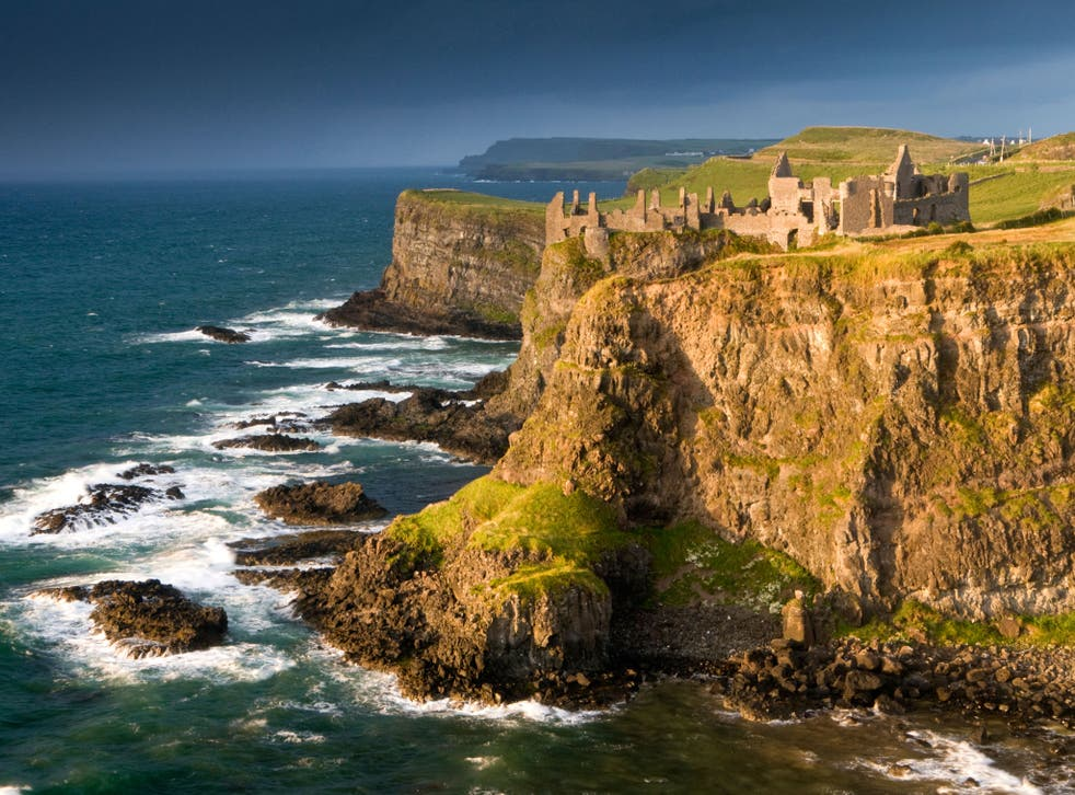 Dunluce Castle - or House of Greyjoy, as Game of Thrones fans will know it