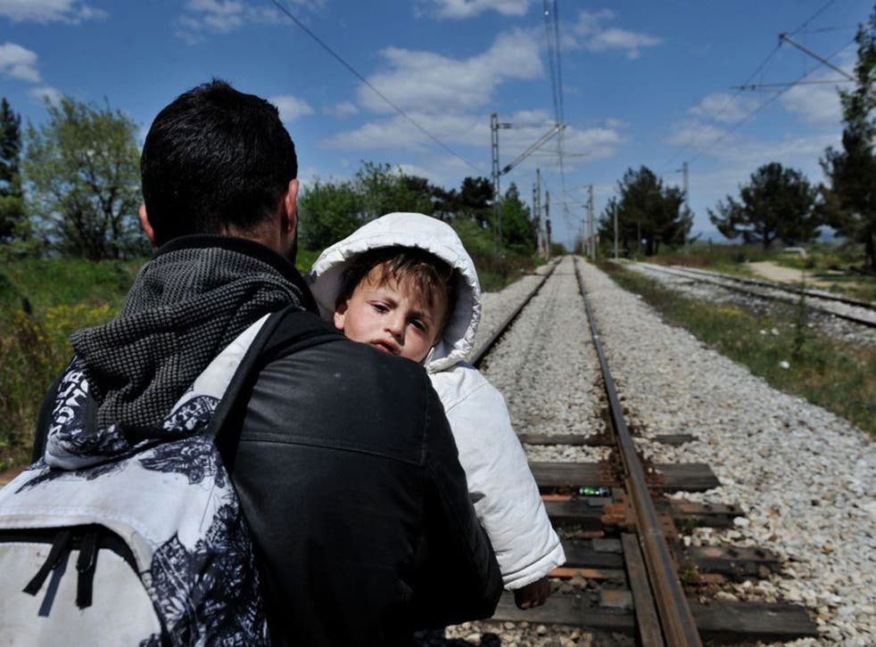Migrants walk hundreds of miles on the Western Balkan route, often through Macedonia, Serbia and Hungary