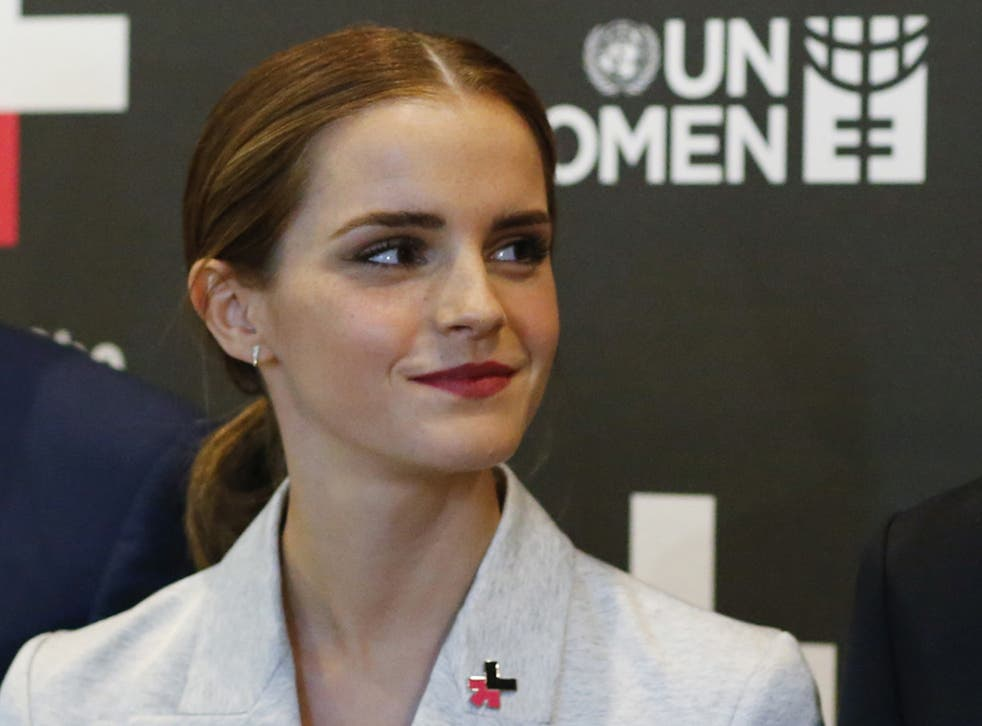 Emma Watson, an ambassador for the United Nation's HeForShe campaign (Getty)