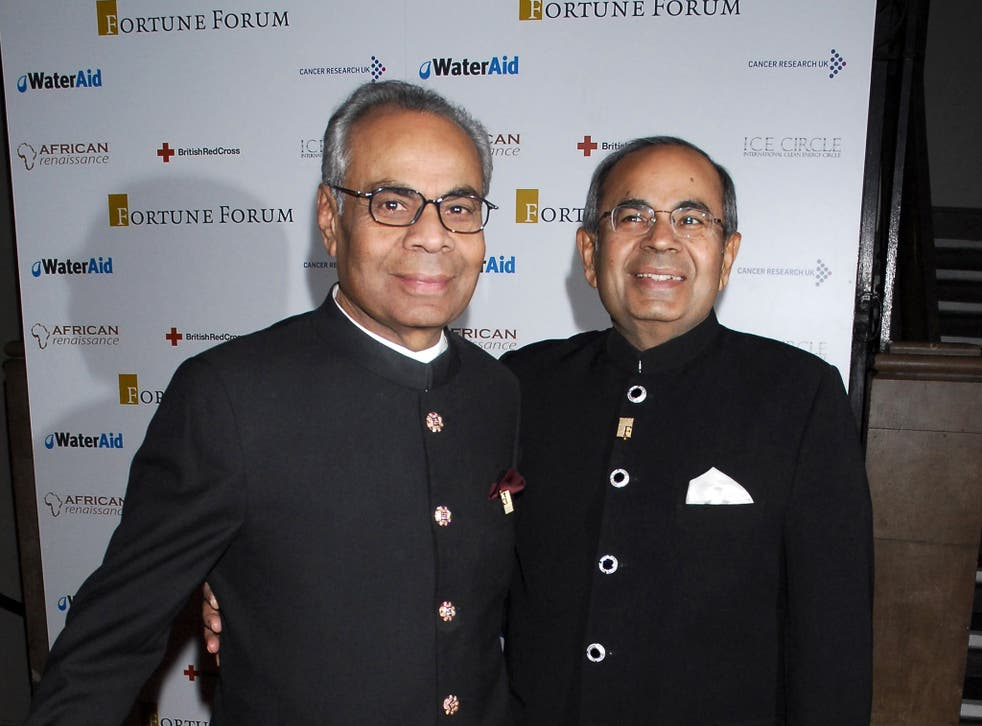 The Hinduja brothers are worth a combined total of £16.2bn, according to the Sunday Times Rich List