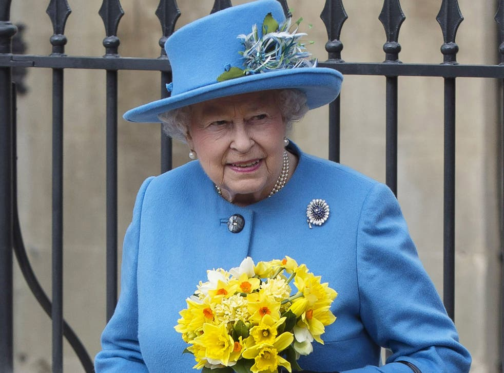 The Queen became the subject of a Ukrainian politician's bizarre joke after accidentally wearing the colours of the country's flag