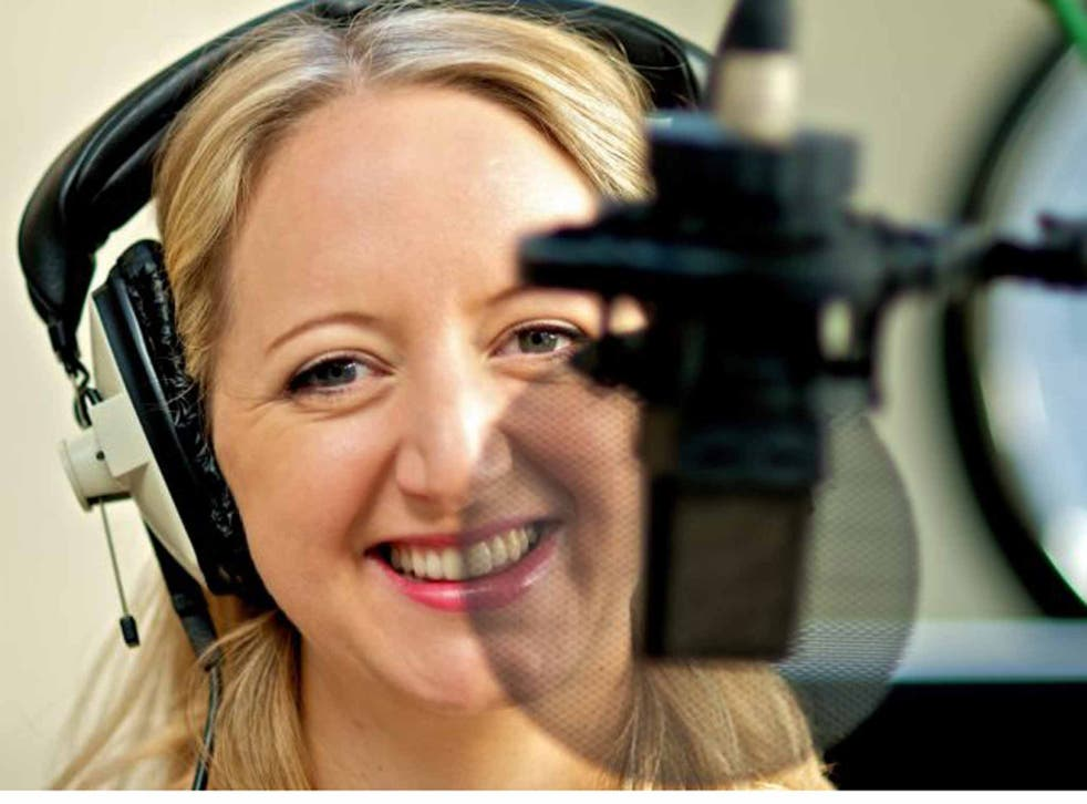 You can hear Rachael Naylor's dulcet tones on Olay ads and One Direction DVDs