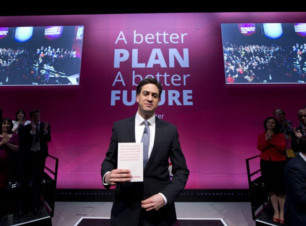 """Labour: """"Britain Can Be Better"""" (AFP/Getty)"""