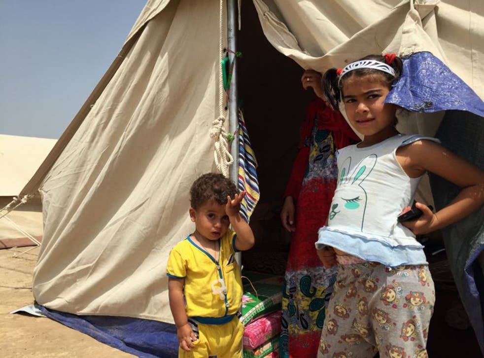 Officials are struggling to accommodate the unexpected influx of displaced people, which comes on top of the 2.7 million already displaced in Iraq since the beginning of last year