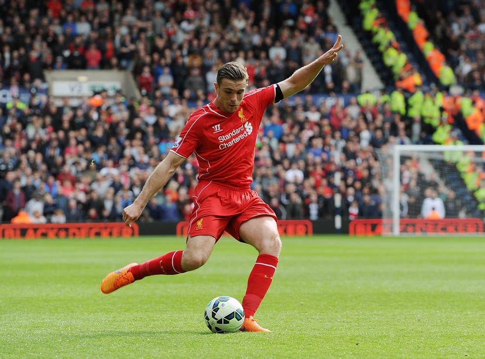 Jordan Henderson has had a strong season despite Liverpool's troubles