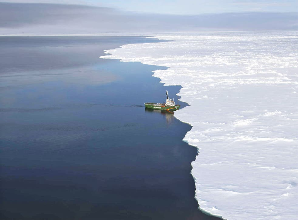The Arctic sea ice helps prevent permafrost from melting – and the gases beneath it from being released